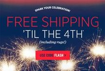 Independence Day Emails / Inspirational email ideas for the 4th of July! Find out how we can help you with your online marketing at http://www.freshrelevance.com
