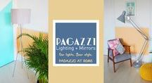 Pagazzi At Home - Our Lights. Your Style. / Pagazzi team up with bloggers HoneyPop & Miss West End Girl to talk about injecting personal style into your interiors and announce their new competition, Pagazzi At Home!