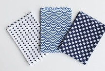 Tenugui - Japanese hand towels(手ぬぐい) / A Tenugui (手ぬぐい) is a thin Japanese hand towel made of cotton.