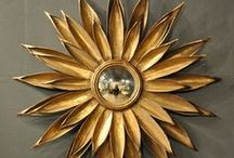 Sunbursts + Starbursts / Generally golden, sometimes brash, rarely discreet, thus made to be noticed rather than stick to functionality as clocks or mirrors, these design-led wall accessories have become objects of desire like no other...