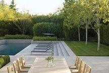 pools + pool houses