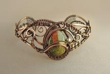Jewelry: Wrapped Wire Work WoWs! / by Lisette Gonzalez