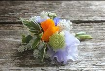 August seasonal English country flower delivery and wedding flowers / Seasonal British flowers from Common Farm Flowers between Bruton and Wincanton in Somerset
