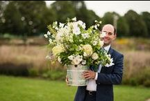 September English country flower delivery and wedding flowers / British flowers by Common Farm Flowers between Bruton and Wincanton in Somerset