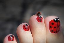 Ladybugs / I love red and spots!
