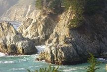 At home on the coast. / by Beverly Cluff