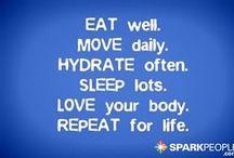 healthy living / by Kristie Faulk