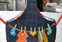 Denim Upcycled / all things made from denim