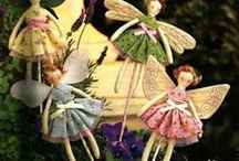 Fairies and Elves and their Clothing.