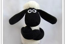 Softies / soft toys off all shapes and sizes