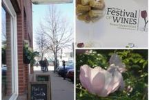 Spring in Charlottetown / It's time for spring shopping, strolls along the boardwalk, the PEI wine festival & tulips. These are a few of our spring favourites in Charlottetown