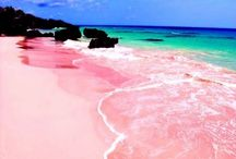 Colourful sand!