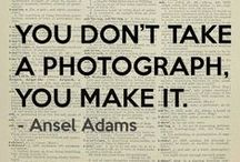"""Photography and photographers / """"It is more important to click with people than to click the shutter."""" - and other beautiful quotes about photography from National Geographic's #WomenOfVision and other photographers that made the history of this art. Get inspired!"""