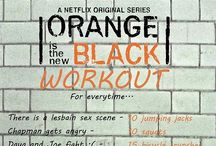 OITNB Watch Party Ideas / Orange Is the New Black Watch Party / by Juli Stark-Warren