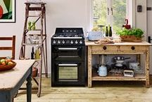 Compact Kitchens / Small space? No problem. Here are top tips to make the most of compact kitchens.