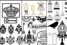 Embellishment / Embellishments- for paper projects / by Jessi Baker