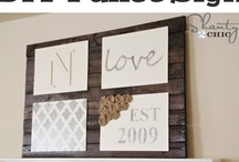 wall decor / by barre3  North Scottsdale