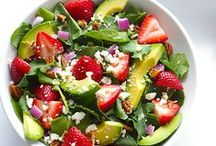 SALAD RECIPES ♨ / Favorite & Must-Try Salad Recipes. I can´t imagine a life without salads :-)