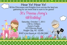 Princess tea party birthday - done / by Kristen S