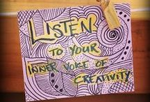 Art Therapy Ideas / Art therapy interventions, directives, and techniques; using art in counseling with children and teens