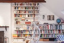 Bookshelves / Places to put the objects of my obsession...