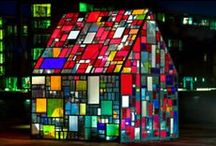 Stained Glass / When the light hits it...