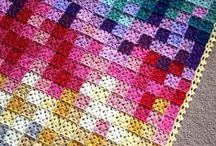 Blankets and Graphgans / Loads of amazing and comfy blankets and graphgans, and granny squares too!