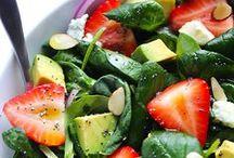 healthy food options / by Rachel Wilcox
