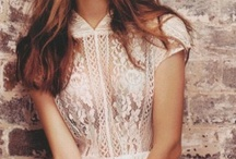 Gamine / Lace, crochet, eyelet.