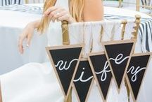 Bridal Shower Chair Ideas / Special seat of honor for the future bride.