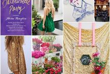 Inspiration Boards / Bridal Shower and Bachelorette Party Inspiration