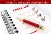 Tips for an easier life