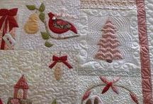 Christmas / Quilted tablerunners etc