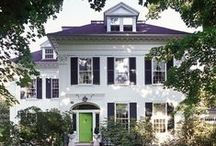 Classical Architecture / Classically Inspired Beauties. Federal, Greek Revival, Colonial Revival and Classical Revival Architecture  / by Skyler Tippetts