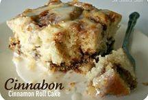 Desserts- Cinnamony goodness!