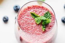 """Smoothies, Juices and More / These drinks will have you saying """"ahhhh"""" this summer! Lots of yummy smoothies, fresh juices, fermented beverages and more to choose from."""