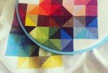 X-Stitch + Embroidery