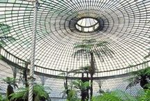 Greenhouses / greenhouses and glasshouse,old and new.