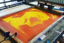 Screen Printed Goodness at Aisle6ix Industries