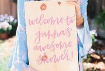 Bridal Shower Signs / Bridal Shower Sign Ideas
