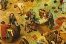 Pieter Bruegel / Pieter Bruegel (the Elder); Netherlands (1525 - 1569).