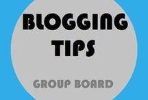 Blogging Tips / Share tips about blogging and #blogging resources