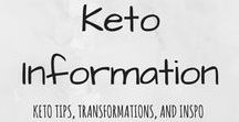 Keto Information / Information, tips, inspiration, and more for all things keto / low-carb.