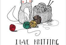 I luv knitting
