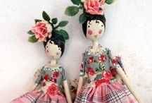 Dolls and toys / by Tracy Frick