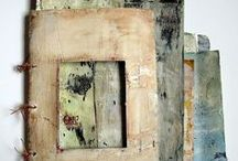 handmade + altered books / the artist book at it's best / by Lee Anne White