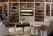 French Heritage Bookcases & Wall Units / Book lovers and voracious readers will rejoice with our selection of shelving and storage for extensive libraries.