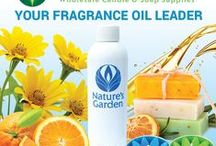 FRAGRANCE OILS / Voted #1 in Fragrance Oils!  Wholesale-priced fragrance oil are used by handcrafters and small businesses for their candle making, soap making, and cosmetic making products. http://www.naturesgardencandles.com/candlemaking-soap-supplies/category/0200/Fragrance-Oils.html