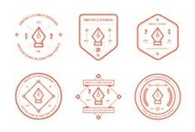 BADGES / by Mr Cup & Walter magazine