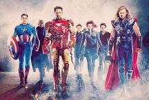 Avengers: We have a Hulk. / Thor, Iron Man, Hulk, Captain America, Hawkeye, Black Widow, Nick Fury, and Agent Coulson... and a few other heroes ready at a moments notice to fight evil for the citizens of Earth! / by Kelly Evans